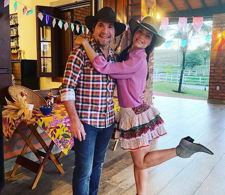 O cantor Daniel é casado com Aline Pádua (Foto: Instagram)