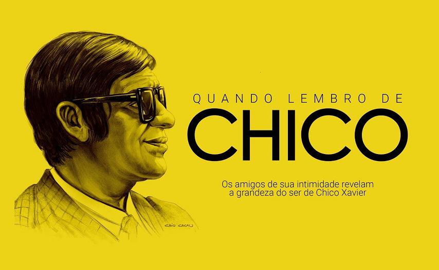 """""""Quando Lembro de Chico"""" - A produção é um registro histórico da vida de Chico Xavier, o famoso médium, filantropo e um dos nomes mais importantes do Espiritismo no Brasil. (Foto: Divulgação)"""