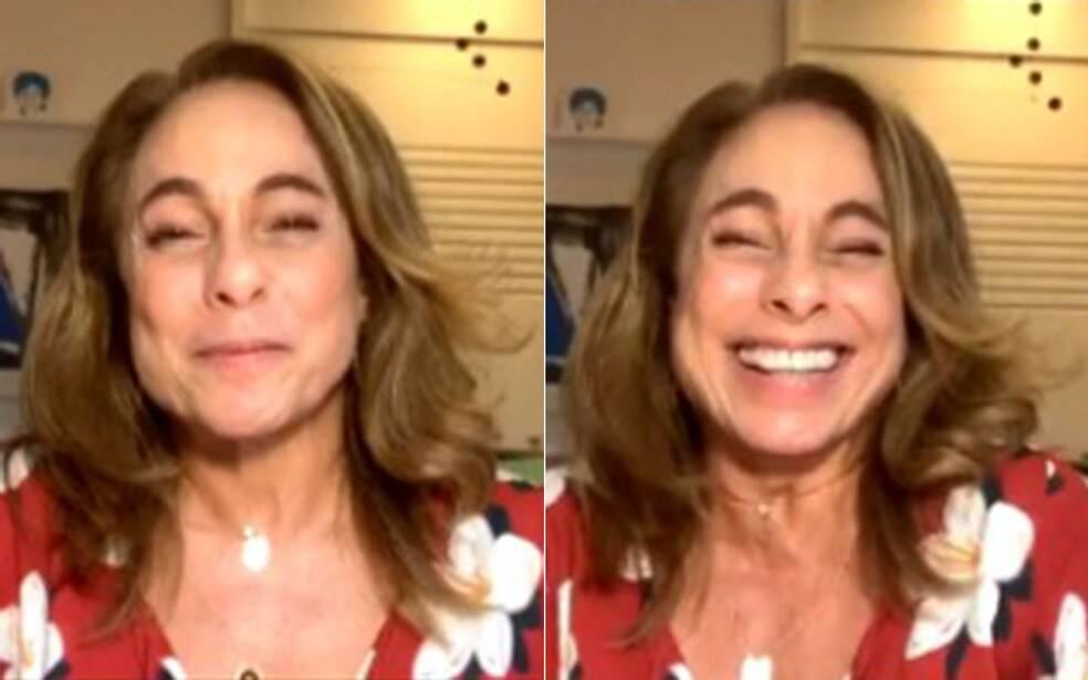 Ela costuma se emocionar quando cita Rafael (Foto: Globo)