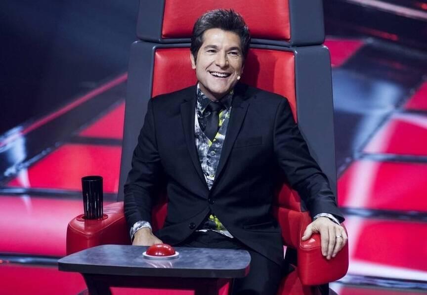 O cantor foi um dos jurados do 'The Voice +' (Foto: Instagram)