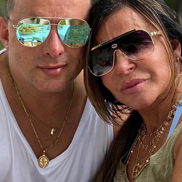 Gretchen é casada com o saxofonista Esdras de Souza. (Foto: Instagram)