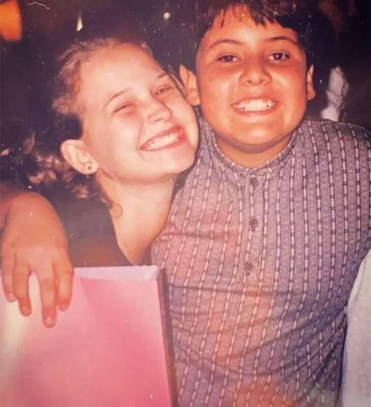 Bruno de Luca e Fernanda Souza são amigos de infância. (Foto: Arquivo pessoal)