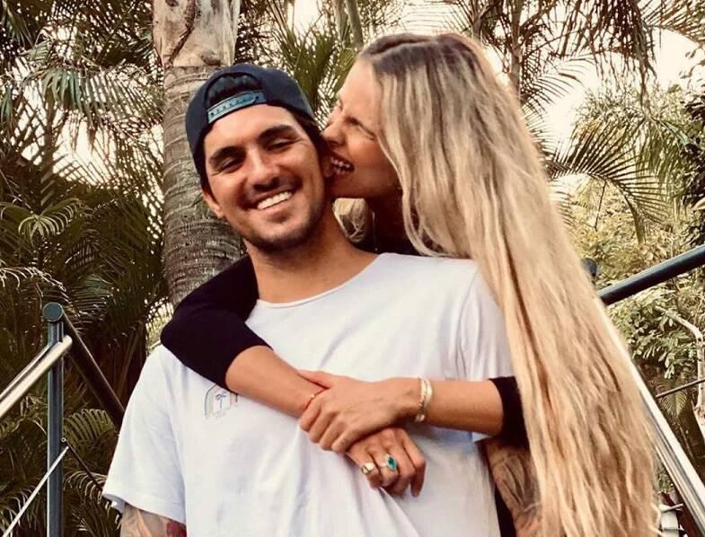 """""""Agora minha missão é deixar ela orgulhosa"""", declarou Gabriel Medina sobre Yasmin Brunet. (Foto: Instagram)"""
