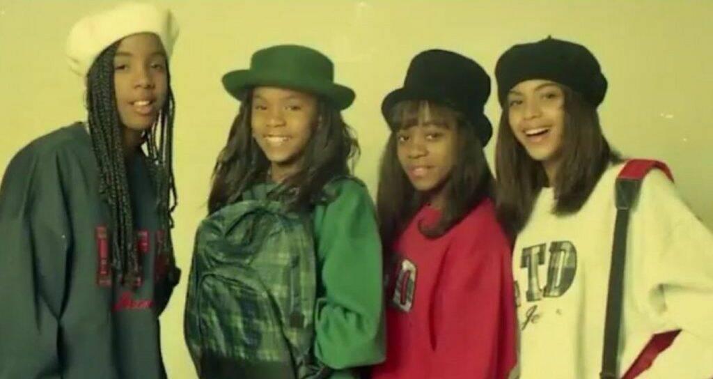 Na época, a banda ainda se chamava Girl's Tyme. (Foto: Divulgação)