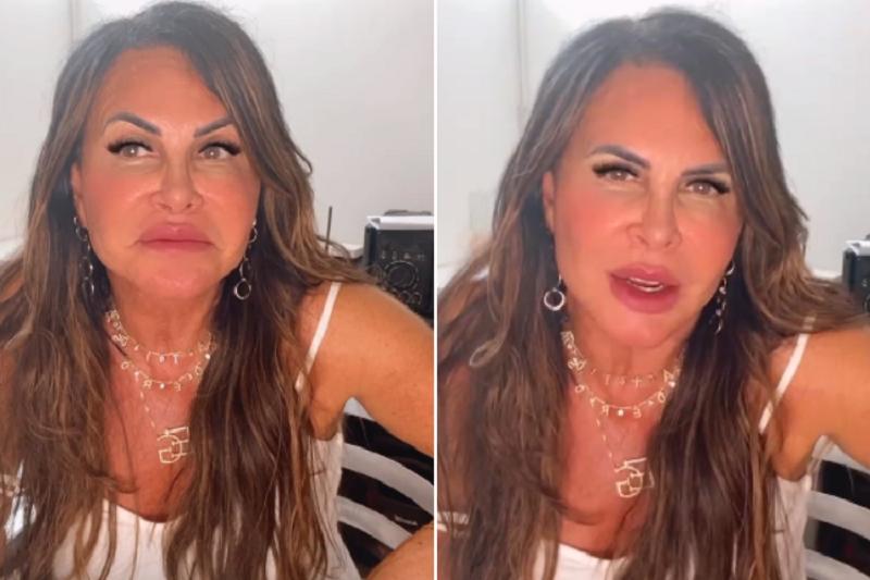 """""""Eu não pareço mais comigo mesma. Sabe por quê? Porque eu estou linda. Porque eu mudei completamente o meu rosto"""", rebateu a famosa. (Foto: Instagram)"""