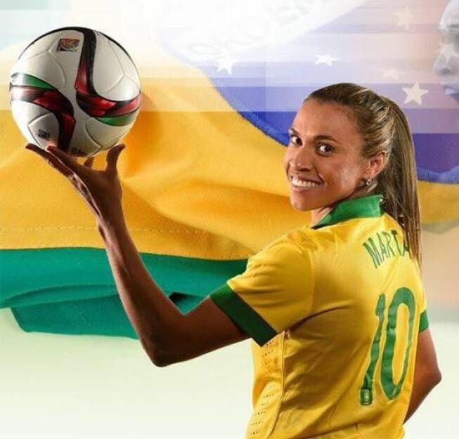 Marta Vieira da Silva é a melhor jogadora de futebol da história do planeta. Vice-campeã mundial e duas vezes medalha de prata em Olimpíadas, a rainha disputará em Tóquio 2020 sua quinta edição de Jogos Olímpicos. (Foto: Instagram)