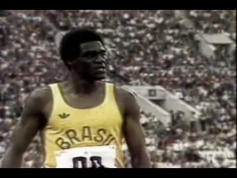 João do Pulo, sofreu racismo em sua carreira, e uma partida que lhe deu o bronze (Foto: Youtube)