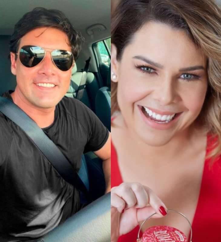 Segundo contou Fernanda em uma live, o apresentador e ela são amigos há 20 anos! (Foto: Instagram e Divulgação)