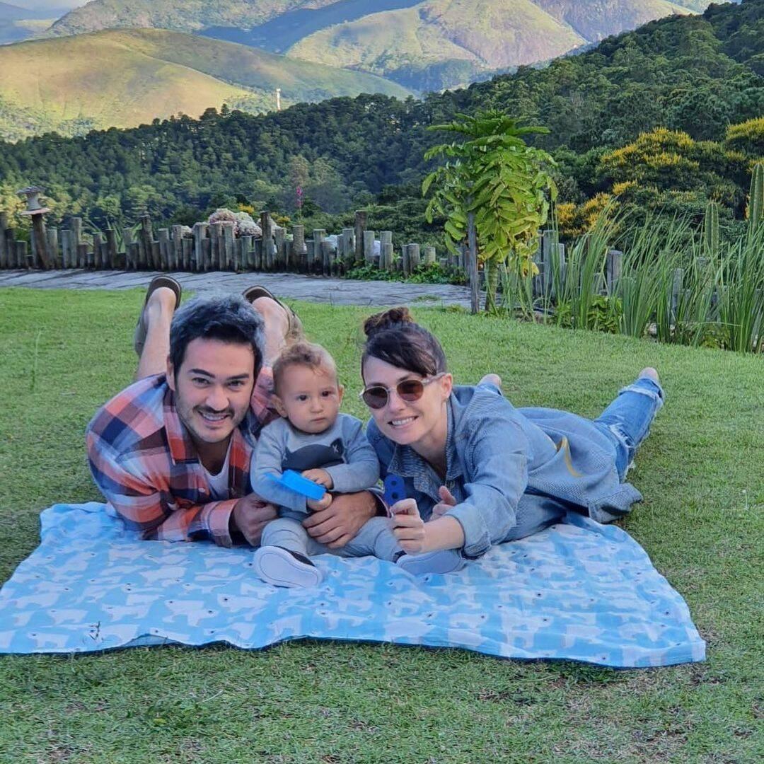 Olha que bela família! (Foto: Instagram)