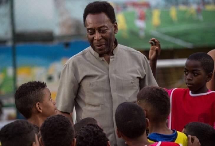 """""""Você me enche de orgulho"""", declarou Pelé. (Foto: Instagram)"""