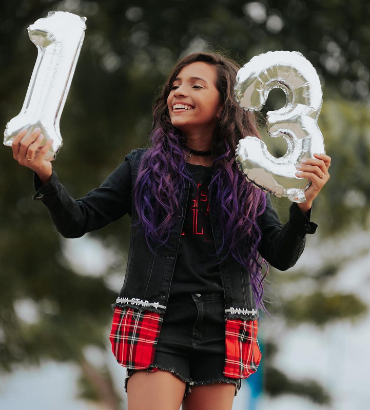 A skatista Rayssa Leal tem apenas 13 anos. (Foto: Instagram)