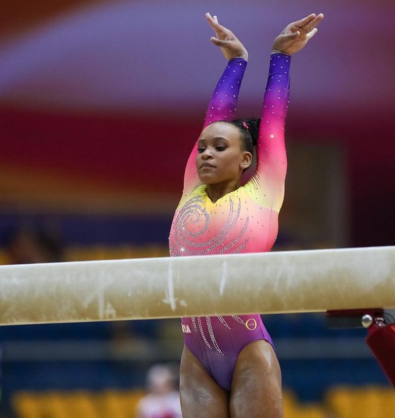 """""""Até pouco tempo os negros não podiam competir em alguns esportes"""", ressaltou, visivelmente emocionada. (Foto: Ricardo Bufolin)"""
