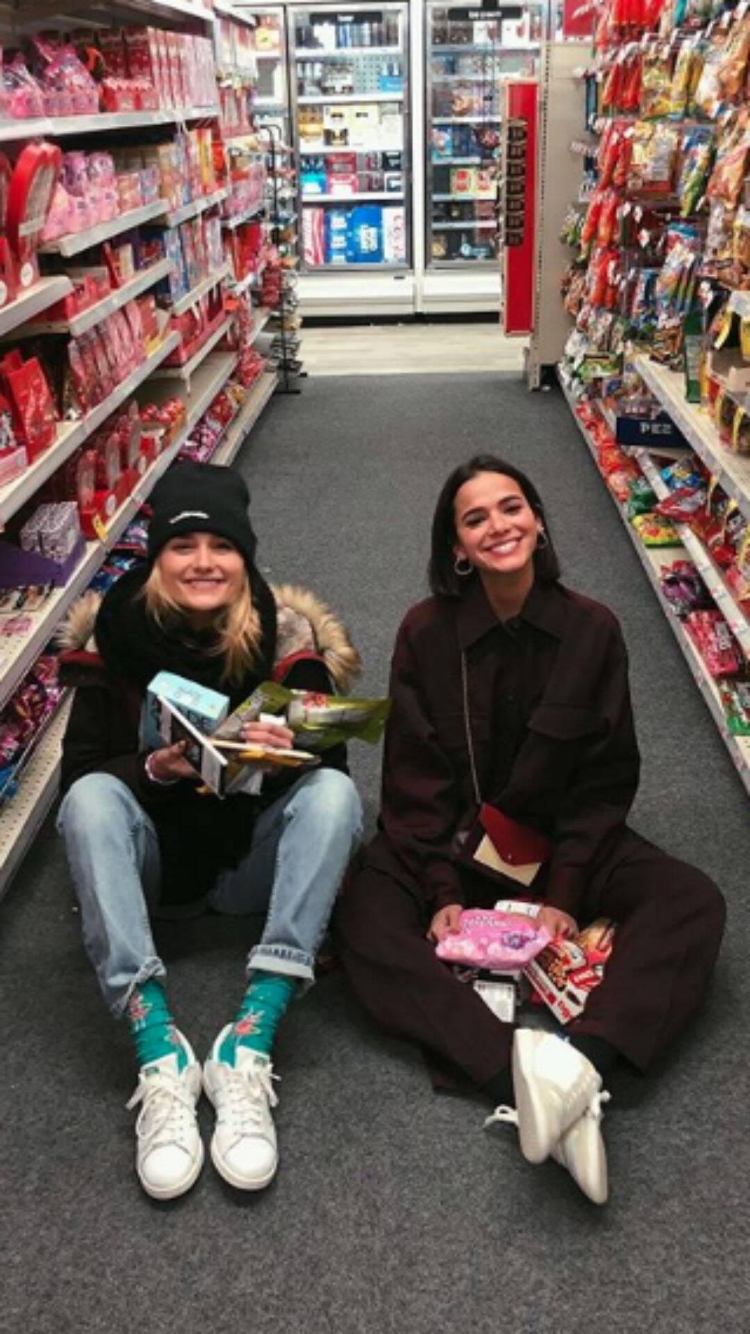 Bruna até já foi passar um tempo em Nova York com a amiga, que mora na Big Apple e cursa moda. (Foto: Instagram)