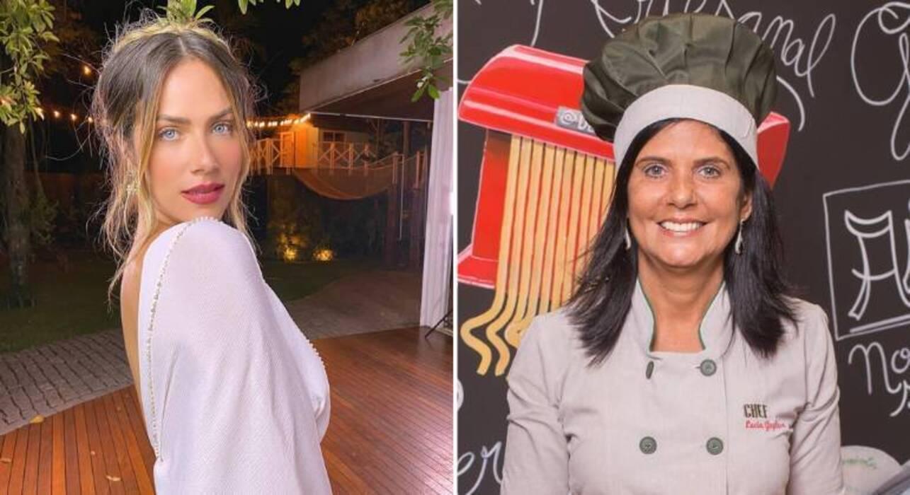Giovanna Ewbank também já admitiu ter algumas faíscas na relação com a sogra, Lúcia Gagliasso. Em 2017, a atriz contou em seu canal no YouTtube que ela e a chef de cozinha não se davam muito bem. (Foto: Instagram)