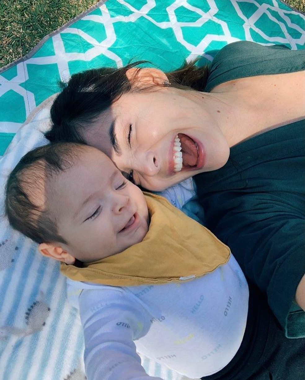 O pequeno é fruto do relacionamento entre Titi Muller e Tomás Bertoni. (Foto: Instagram)