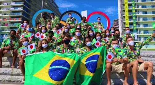 Atletas do Brasil (Foto: TV Globo)