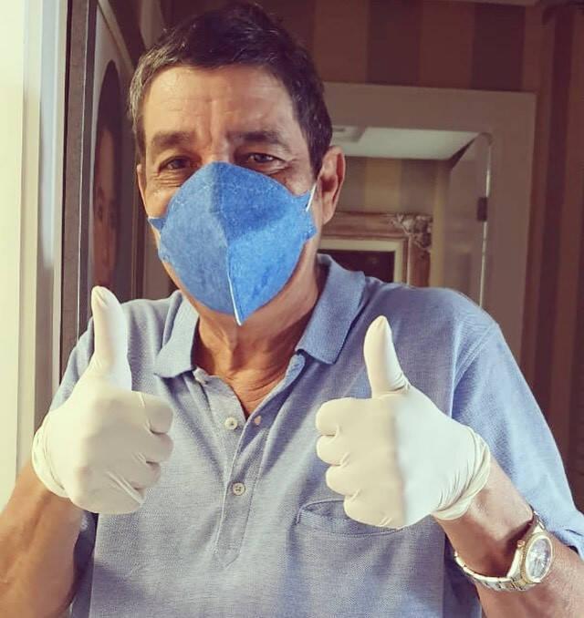 O cantor Zeca Pagodinho, de 62 anos, foi diagnosticado com covid-19 (Foto: Instagram)