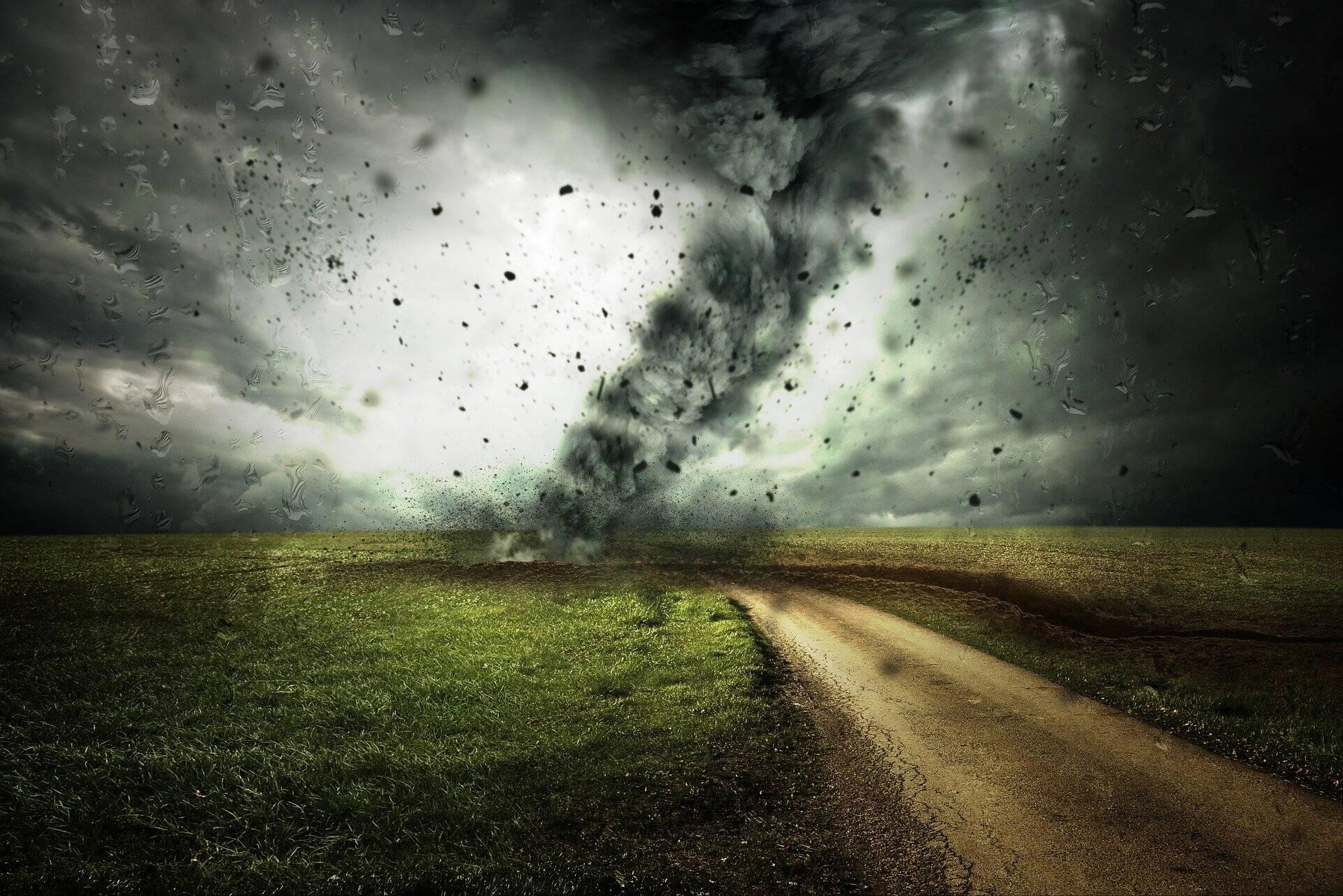 Os danos causados por ventos fortes do furacão podem ser vistos em todos os lugares (Foto: Pixabay)