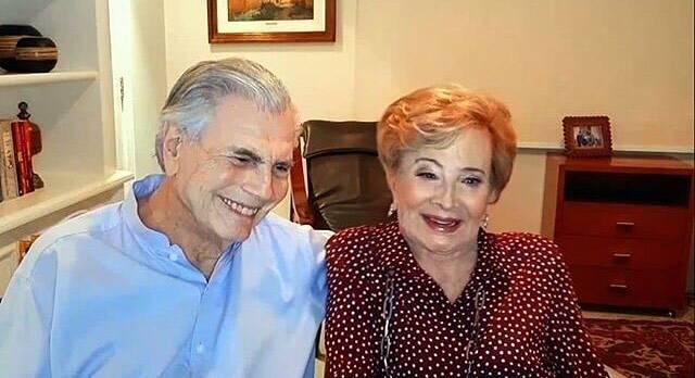 Ambos deram entrada no dia 6 de agosto no Hospital Albert Einstein (Foto: Instagram)