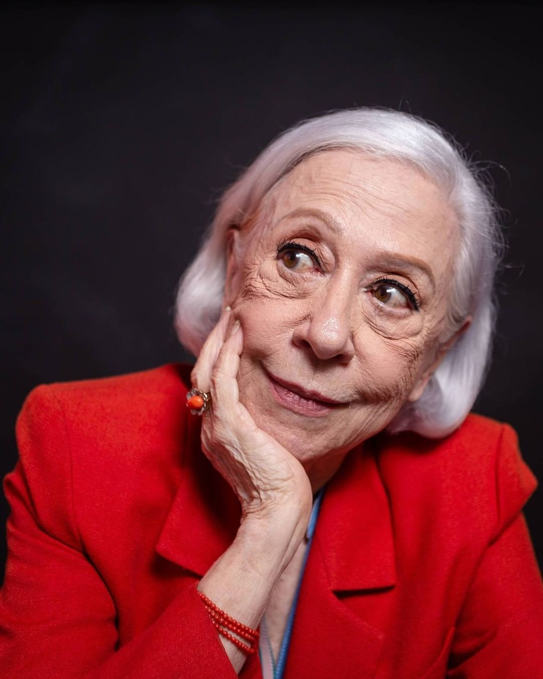 Aos 91 anos, Fernanda Montenegro, um dos maiores talentos da Rede Globo, segue vinculada na emissora. (Foto: Instagram)