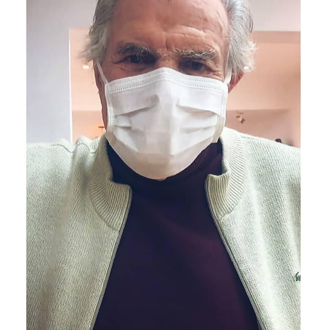 A doença se manifestou de forma grave em Tarcísio Meira (Foto: Instagram)