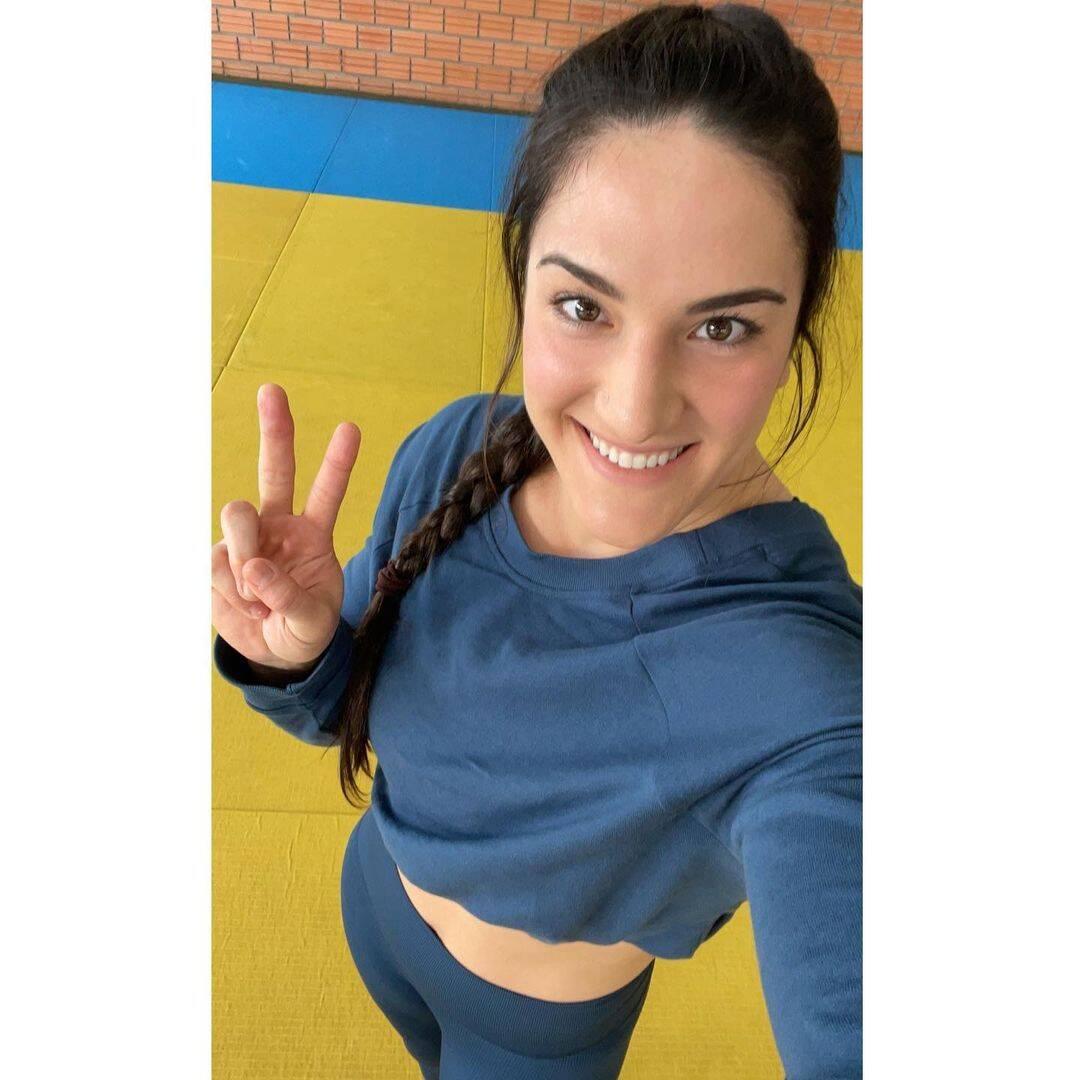 Mayra Aguiar conseguiu novamente mais uma medalha de Bronze (Foto: Instagram)