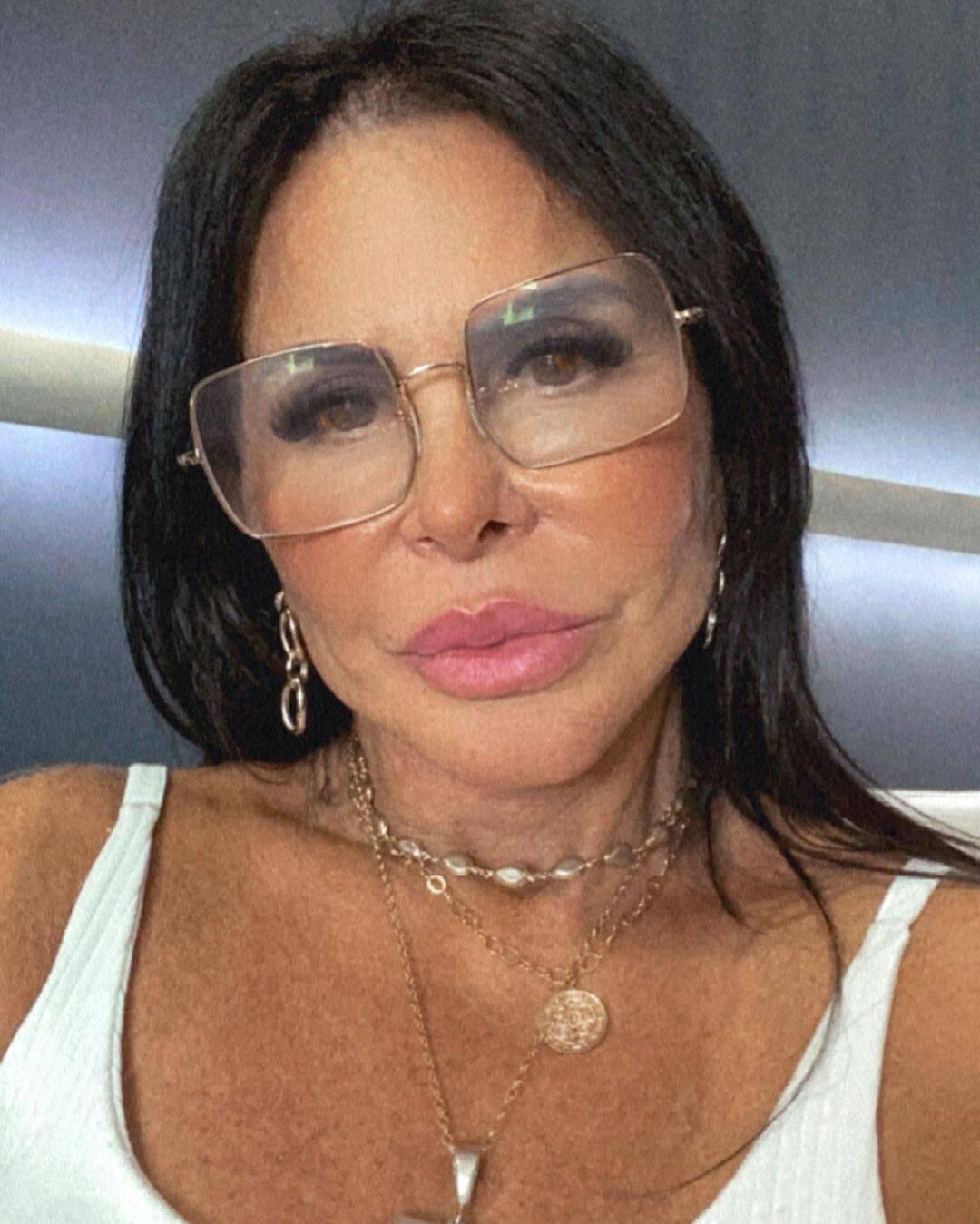 Gretchen, aos 62 anos, está sempre cuidando de seu visual. Recentemente a artista deu uma renovada nas madeixas. (Foto: Instagram)