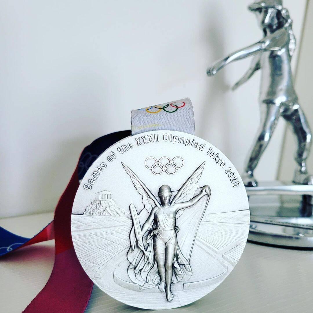 O Brasil conseguiu três medalhas de prata (Foto: Instagram)