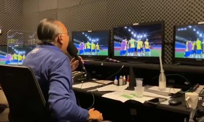 De acordo com o colunista Alessandro Lo-Bianco, os planos da emissora são que o apresentador faça a cobertura da Copa do Mundo, mas logo depois, não há certeza de que ele permaneça na grade. Atualmente Galvão Bueno recebe um salário de R$500 mil por mês. (Foto: Instagram)