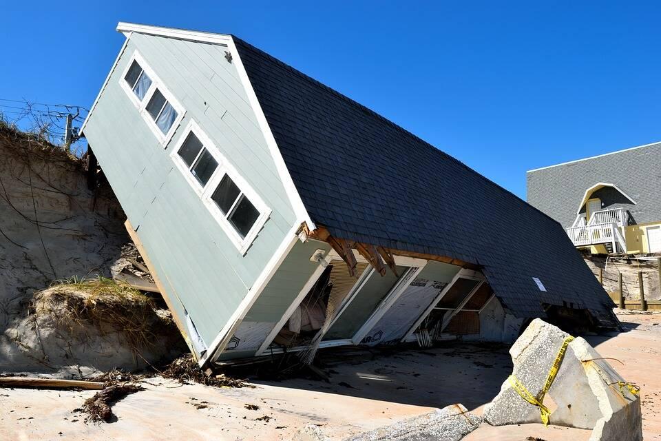 Algumas áreas tiveram quase todas as casas danificadas pelo Ida. (Foto: Pixabay)