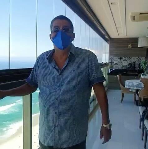 Atualmente ele está internado na Casa de Saúde São José, no Rio de Janeiro (Foto: Instagram)