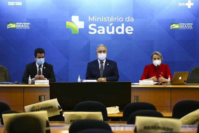 No início da semana, a secretária de Enfrentamento à Covid-19 do Ministério da Saúde, declararam a necessidade da aplicação de uma terceira dose (Foto: Agência Brasil)