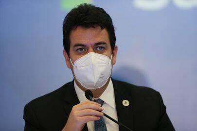 Rodrigo Cruz, secretário-executivo da Saúde, apresentou uma projeção interna do ministério sobre o ritmo do processo de vacinação (Foto: Agência Brasil)