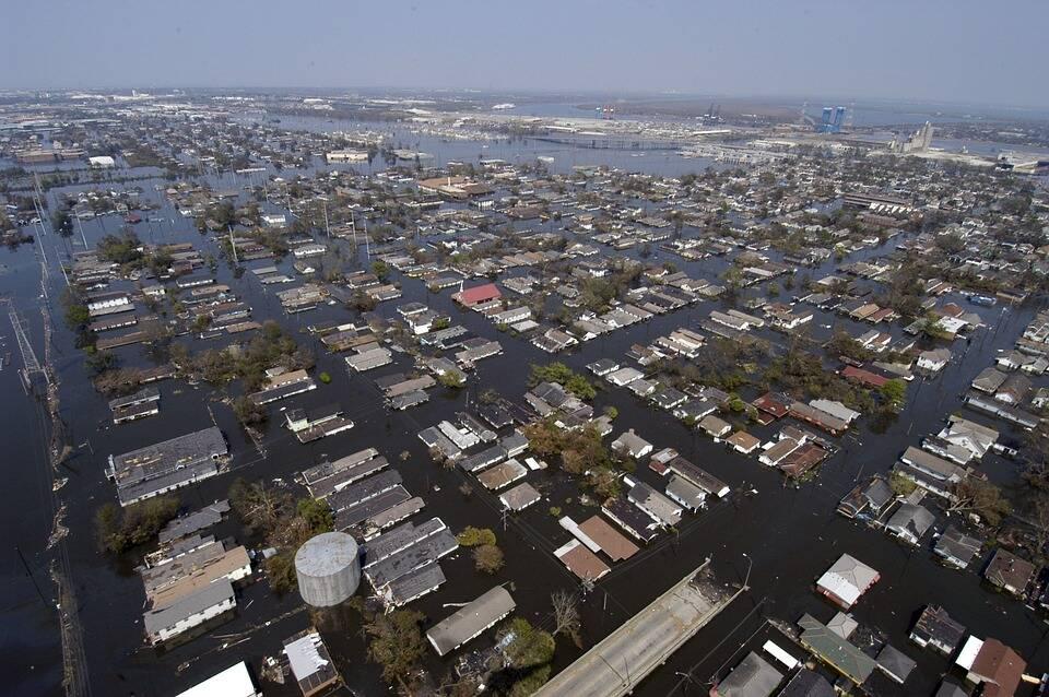 O fenômeno chegou exatamente 16 anos depois de Katrina, que inundou 80% da cidade de Nova Orleans, deixando mais de 1.800 mortos. (Foto: Pixabay)