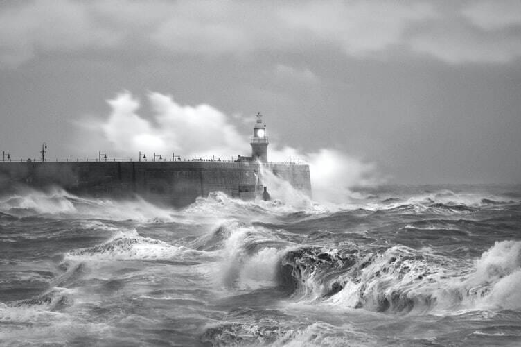 O furacão, classificado como categoria 4, ganhou ainda mais força ao se encontrar com as águas quentes do Golfo do México. (Foto: Unsplash)