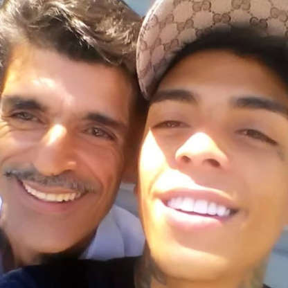 """""""Meu filho jamais teria pulado se não fosse incentivado! Que a Justiça de Deus seja feita!"""", escreveu Agnaldo (Foto: Instagram)"""