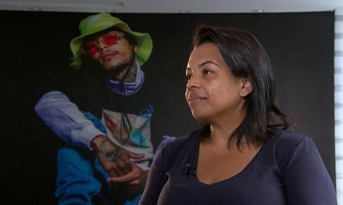 Ela revelou que não tem paz desde da morte do filho, e garantiu que os envolvidos, também não terão (Foto: Record TV)