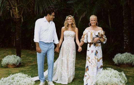 Ela se formou em moda na faculdade The New School Parsons, e hoje em dia mora no Brasil, onde se casou com o cantor João Figueiredo (Foto: Instagram)