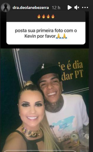 Deolane Bezerra, viúva de MC Kevin, continua compartilhando momentos bons que viveu com o noivo antes de sua morte em maio. (Foto: Instagram)