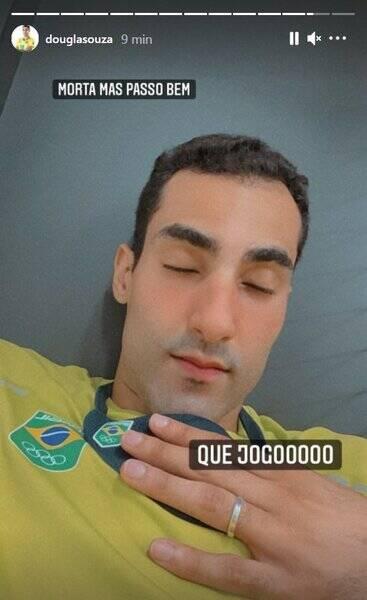 Douglas ganhou o coração do brasileiro com seu jeito único em suas redes sociais (Foto: Instagram)