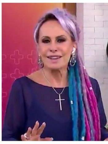 Até alguns dreads , ela colocou (Foto: Globo)