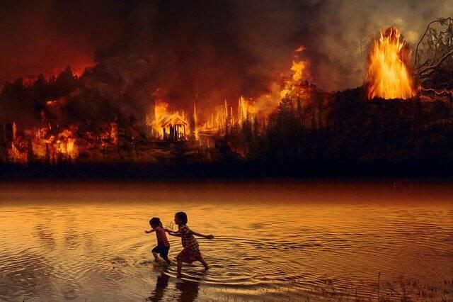 As altas temperaturas, secas e incêndios podem afetar o Amazonas (Foto: Pixabay)