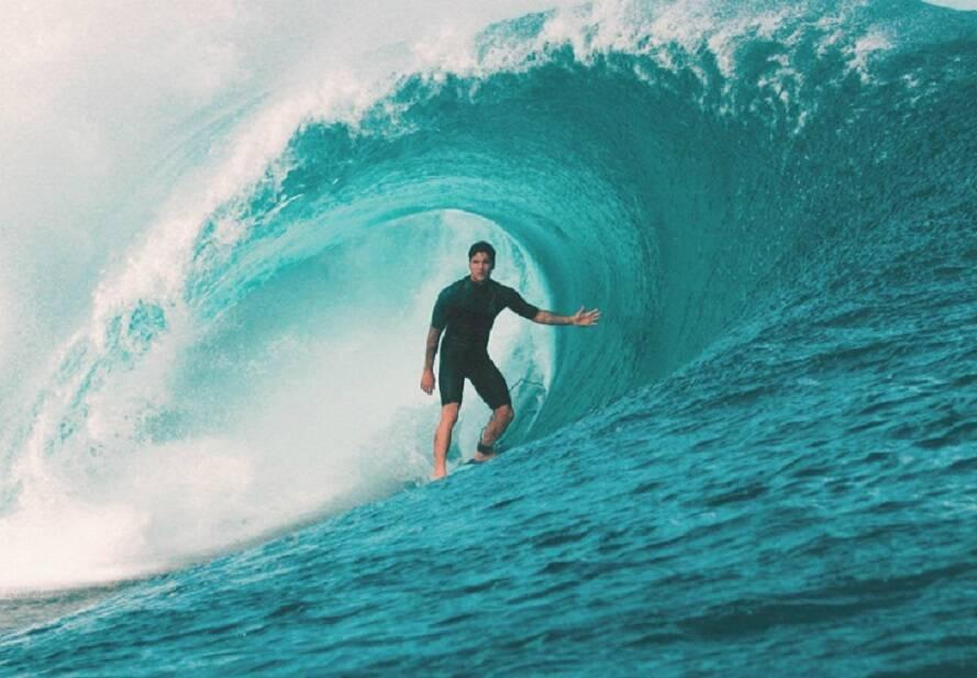 """""""Gabriel Medina"""" - O documentário mostra a evolução pessoal e profissional do surfista que se tornou um dos maiores nomes do esporte. Disponível no Globoplay. (Foto: Divulgação)"""