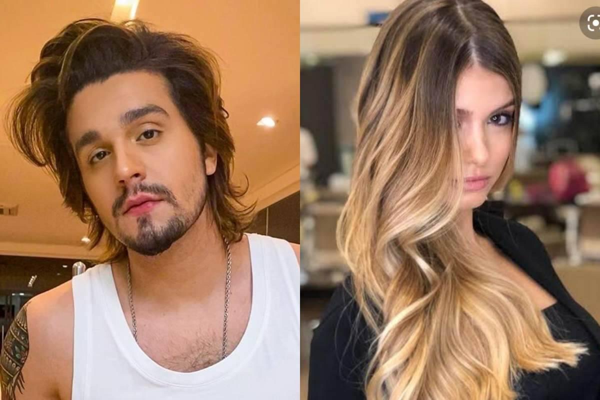 Luan Santana foi visto por uma fã da modelo que a reconheceu porque ela não estava usando nenhum disfarce. Ele, por sua vez, tentava não ser reconhecido. (Fotos: Instagram)