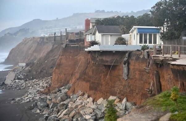 Em 2050, as pessoas das cidades costeiras estarão expostas a tempestades mais severas (Foto: Climate Central)