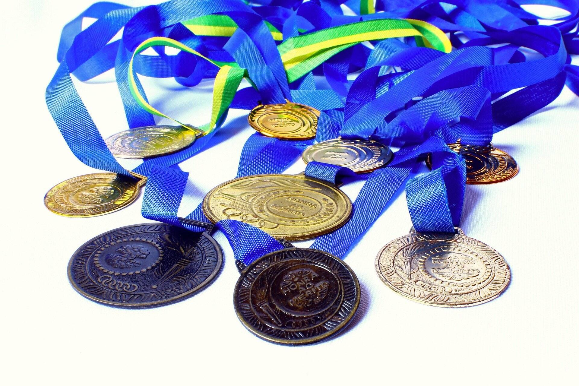Com um total de 16 medalhas, sendo 4 de ouro, 4 de prata e 8 de bronze (Foto: Pixabay)