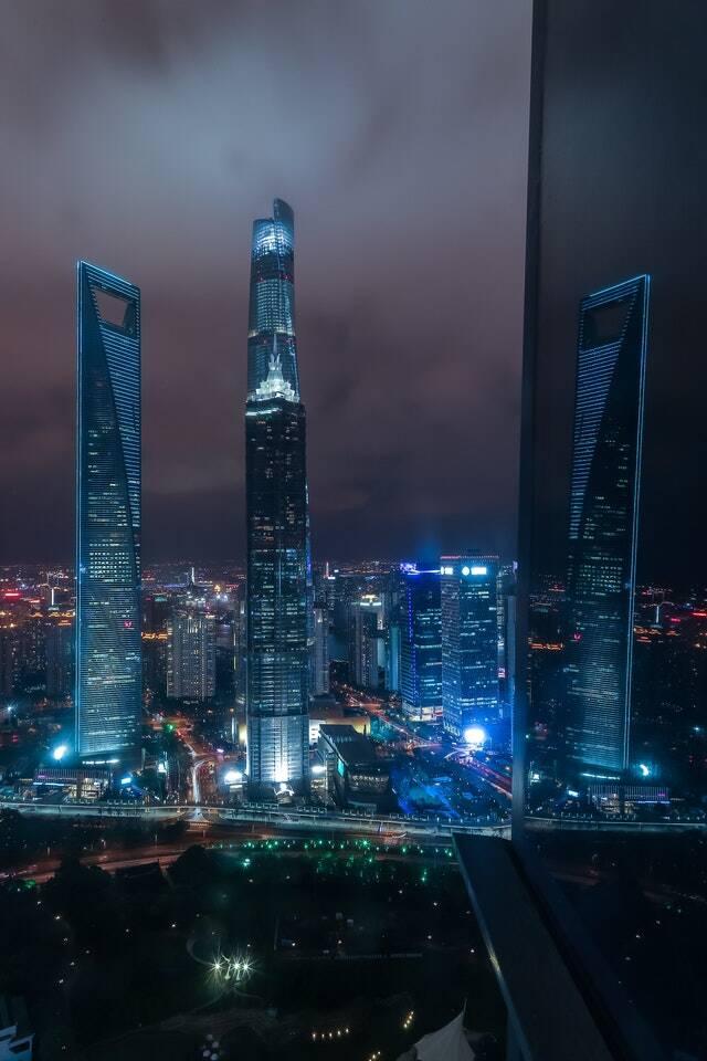 Em Shangai a água tomara a cidade (Foto: Pexels)
