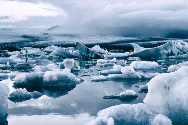 O ambiente no qual construíram seus modos de vida e sua história podem derreter (Foto: Pexels)
