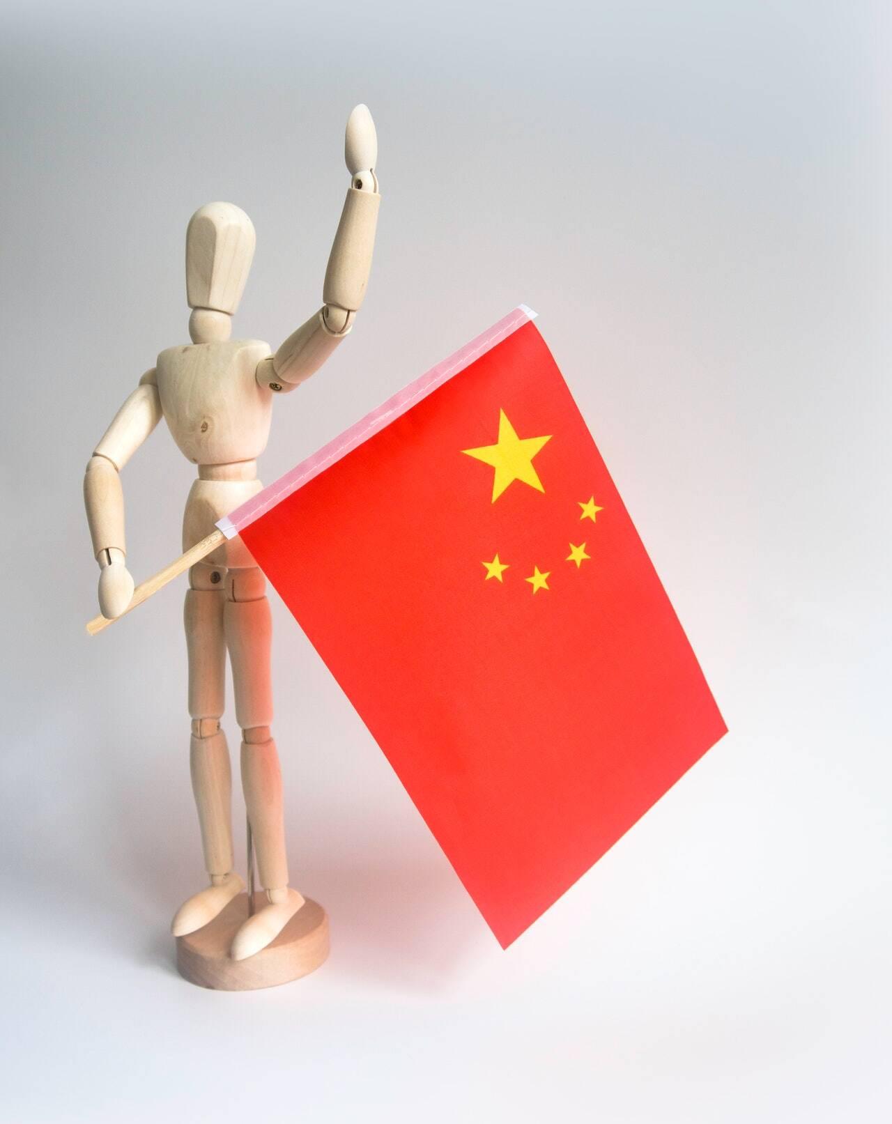 Em primeiro lugar do ranking de olímpiadas, temos a China (Foto: Pexels)