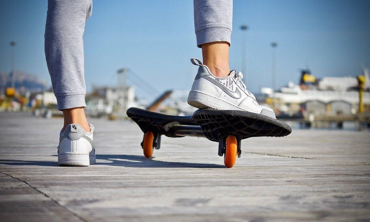 No skate park, podemos contar com a participação para tentar a medalha de seis atletas (Foto: Pixabay)